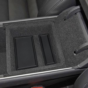 7pcs Car Center Console Porta-copos Mat Liner Acessórios para Modelo 3 B99