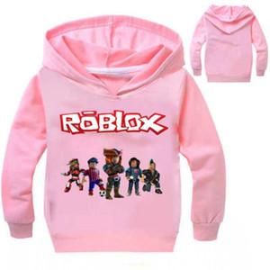 New Kids Roblox Pull jour Nez rouge Sweat à capuche Garçons Filles Automne Coton T-shirt mode Cartoon Hauts 2-14y