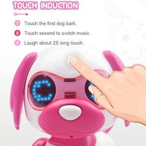 Electronic toys robot toy intelligent UInteractive Smart Puppy Robotic Dog LED Eyes Sound Recording Sing Sleep Cute lovely PH30
