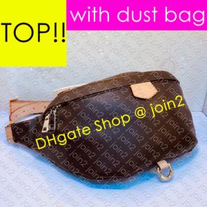 M43644 BUMBAG Designer Womens Chest cinto Avenue Sling Bag Luxo ombro Waistpack Corpo Cruz Bolsa Outdoor Descoberta Bumbag DAUPHINE