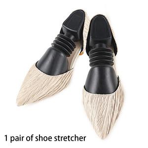 2 piezas de calzado Camilla talladora Inicio Botas Expander durable universal resistente al desgaste ajustable anti arrugas resorte elástico práctico