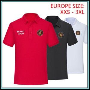 Polo dos homens MLS atlanta unida fc 2019-20 Camisa Polo de Futebol 2019 2020 camisa de pólo atlanta unidos camisa de futebol atlanta unida camisas de futebol