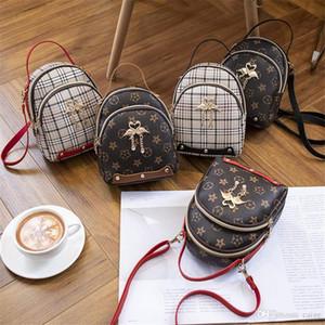 New Girl Bag Swan Band Kleine runde Beutel-Art- und Luxus-Handtaschen: Student Rucksack-Mädchen-Sommer-Tasche Lovely Girl Rucksack