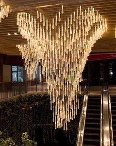 물 드롭 크리스탈 크리 에이 티브 펜던트 조명 유럽 스타일의 고급 LED 램프 크리스탈 유리 실내 조명 스칸디나비아 로프트 레스토랑 램프