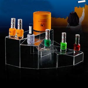 Trasparente dimensioni gioielli cremagliera bagagli occhiali da sole mensole trucco Organizzatore Scarpe Multi espositore ripiano in acrilico Giocattoli stand SH190918