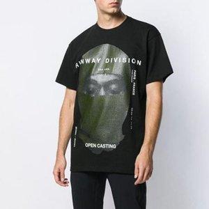 20SS Ih Nom Uh Nit Tee enmascarado foto impresa Hombres Mujeres Parejas Corto, Calle envuelve la manera camiseta de verano tee HFYMTX826