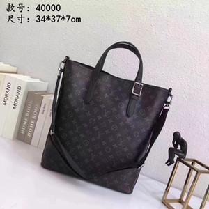 Высокое качество многофункциональная сумка итальянские мужчины большой емкости портфель черный ноутбуки сумки 022003