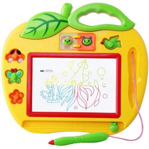 New Kids Drawing Board Magnético Com Selos Magia Slate Board Brinquedos Educativos para Graffiti Desenho Colorido + Caneta 25 * 22 cm