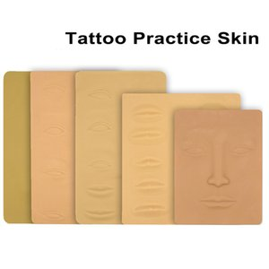 Microblading Tattoo Training Skins 3D Cosmetic Fake Skins Permanent Makeup Eye Lips Face Practice Skin Tattoo Tools for Beginner
