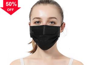 Lo7Kp y gasa certificación de protección máscaras desechables cara lavable 3 lámina no tejida oscuridad Melt máscara de tela soplada boca p