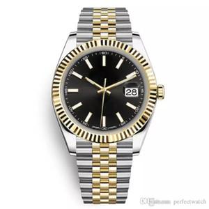 2019 Top Verkauf 41mm Edelstahl solide Verschluss automatische Bewegung 2813 mechanische Uhr Männer Big Date Präsident Desinger Herrenuhren