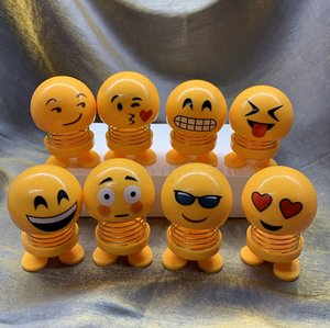 украшения Мультфильм Весна Minions Bobble Head Doll Emoji автомобилей