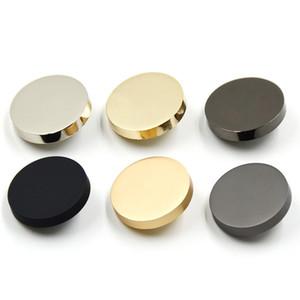 100pcs 10mm 11.5mm 15mm 18mm 20mm 28mm Goldknopf für Down Jacket Anzüge Hemd Zu Buttons