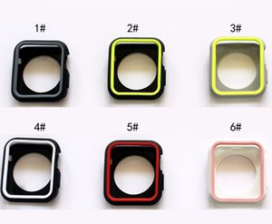 100pcs lot Fourth Generation Protective Sheath for Apple Apple Watch Watch Anti-falling iwatch234 Soft Silicone Motion Shell