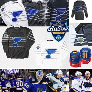 2020 All-Star Vladimir Tarasenko Jersey St. Louis Blues Brayden Schenn Alex Pietrangelo Binnington Colton Parayko David Perron Ryan O'Reilly