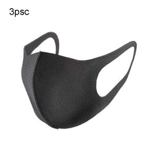 3pc Unisex Mouth Converse Anti Dust half Face Mouth Cover PM2. 5 Mask Dust Anti-bacterial Outdoor Cycling Protection