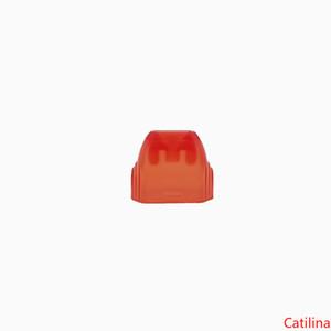 Vape Kalem Kartuşunda Uwell Caliburn Bakla Akrilik Damla Uçlu Düz Cap Renkli Kapak Ağızlık Pod Kılıf