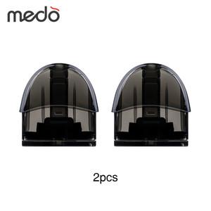 2 шт. / Упак. Medo Pod Cartridge 2 мл для Medo Vape Pod Starter Kit 2 мл Емкость распылитель Емкость E сигареты Vape Vaping