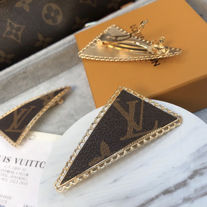 Luxury Designer Women Hair Clips simple letter Hairpins Hair Jewelry Accessories for Women Party Gift free shipping BB46
