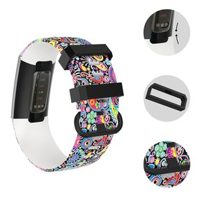 For Fitbit Charge 3 Bracelet Sport TPU Silicone Watch Band Women Men Wrist Strap Accessory Custom Size L