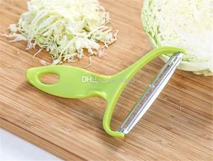 Nueva Comer vegetales barra de acero inoxidable pelador col Graters ensalada de patata Máquina de cortar la fruta del cortador de cuchillos de cocina Accesorios de herramientas de cocina