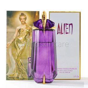 Promozione calda di vendita della signora Women profumo Eau De Parfume Mugler Alien Lasting Profumo Deodorante Spray Profumi Profumi Incenso 90ml