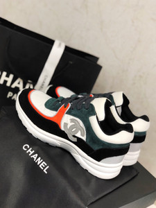chanel Femmes chaussures d'affaires décontractée glisser sur des chaussures de marque entreprise de chaussures de haute qualité réelle cuir taille 35-41 J01 livraison gratuite