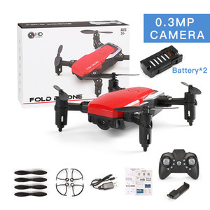 LF606 Wifi FPV RC Fold Drone Quadcopter With 0.3MP 2.0MP Camera 360 Degree Rotating Outdoor Flying Aircrafts fast ship