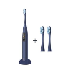 أحدث Youpin Oclean X برو سونيك فرشاة الأسنان الكهربائية الكبار IPX7 بالموجات فوق الصوتية التلقائية شحن سريع الأسنان شاشة تعمل باللمس مع فرشاة