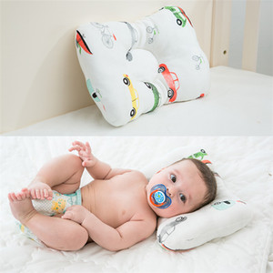 Muslinlife Baby Pillow Newborn Head Protection Cushion Baby Bedding Infant Nursing Pillow Toddler Sleep Positioner Anti Roll DHL FJ275