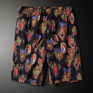 2020 fashion thin sports shorts men's casual beach pants daily casual printed five-point pants BCKA