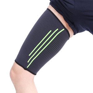 Thigh Support Compression Sport Gear Thigh Wrap Stability Brace Protectors Straps Sleeve Men Women