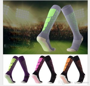 Anti-skid and wear-resistant football thicker towel bottom rubberized socks comfortable and wear-resistant sports stockings