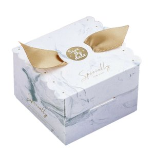 Angel Candy Box Wedding Favor and Square Gift Box Sweet Paper Bags for Wedding Decoration Baby Shower Event Party Supplies