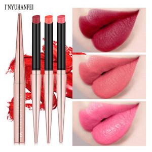 Makeup Matte Lipstick Long-lasting MaSmoky Cosmetics Lip Stick Lips Make up Tint Nutritious Lip Waterproof Mate Batom