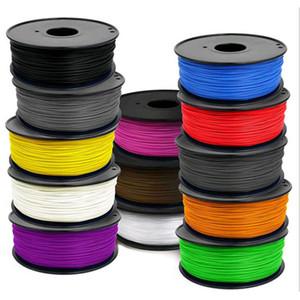 PLA 3D de haute qualité d'impression Filament 1KG 300M multiples couleurs d'impression 3D Consommables 1.75mm imprimante plastique Fournitures de fil importés PLA