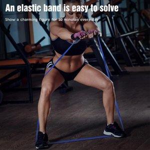 Fit Simplifier Sac latex naturel Carry 208cm Stretching entraînement physique bandes d'entraînement Home Fitness famille Pilates Flexbands