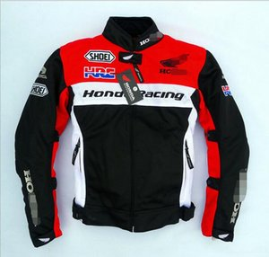 New locomotive riding suits male motorcycle racing heavy machine street biker clothing knight costume Honda red anti-fall breathable
