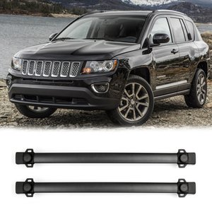 Areyourshop For JEEP COMPASS 2011-2016 4 Door Roof Rack Cross Rails Rail Bars Luggage Carrier Top Roof Rack Cross Rail Bar Car Parts
