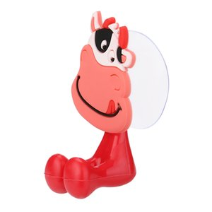 3d Cartoon Animal Toothbrush Holder Vacuum Suction Cup Wall Mount Bracket Bathroom Accessories Set Toothbrush Rack