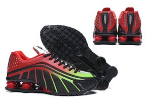 Avenue Deliver Current NZ R4 Chaussure De Course À Pied Neymar x R4 Noir Challenge Red 301 Coloré Hommes Baskets