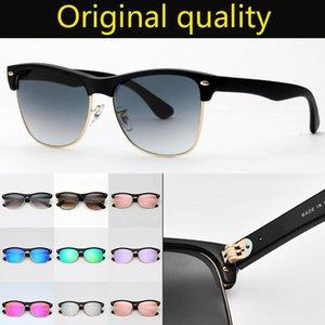 Designer marque lunettes de soleil de femmes d'hommes de style surdimensionné vrai soleil de qualité supérieure lunettes Tous les accessoires inclus