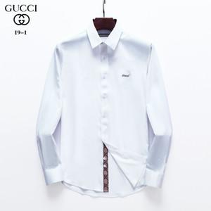 marque logistique gratuite chemise casual hommes nouveau luxe hommes chemise à manches longues européens et américains de la mode tendance chemise vêtements -XXXL CS10