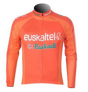 SPRING SUMMER ONLY CYCLING JACKETS CLOTHING LONG JERSEY ROPA CICLISMO 2012 2013 Euskaltel Euskadi PRO TEAM SIZE:XS-4XL