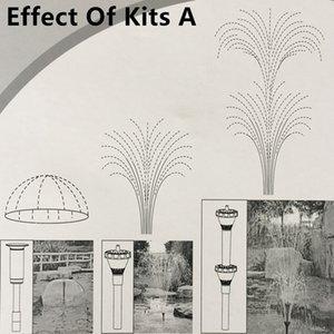 Пластиковые Fountain Head Set для садового пруда Пластиковые Fountain Насадки Садовые украшения