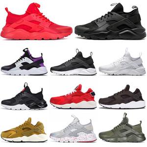 nike huarache Sıcak Satış Huarache Run Ultra 4 Huaraches Erkek Ayakkabı Bayan Trainrs kırmızı siyah yarar Moda ayakkabılar Erkekler Tasarımcı ayakkabı Breathe 1