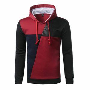Magro Inverno Hoodie morno casaco com capuz camisola do revestimento do revestimento de homens Outwear Sweater