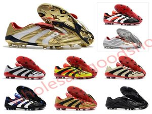 Hot 2020 Hococal Predator Accelerator Electricity FG DB Golden Zidane ZZ Beckham Becomes 1998 98 Men soccer shoes cleats football boots