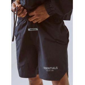 Tanrı korkusu SIS Essentials Naylon aktif şort 3 m yansıtıcı şort Spor Spor Basketbol şort Erkek Kadın Hip Hop kaykay Streetwear