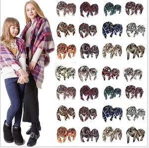 nuova sciarpa genitore-figlio sciarpa plaid autunno e inverno sciarpa uomo e donna imitazione scialle in cashmere Tonglu